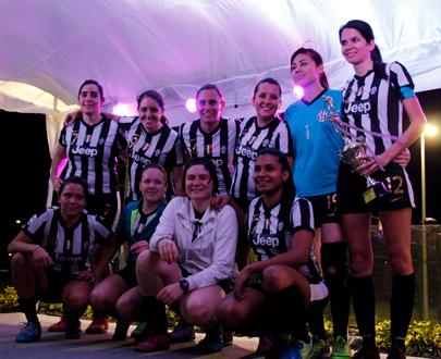 Kokoa Revolution conquistó el Campeonato Femenino AFZ Invierno 2016